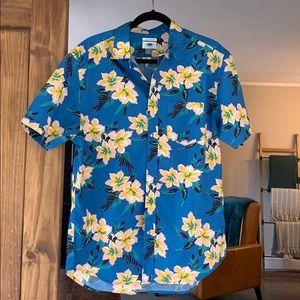 Men's Hawaiian button up